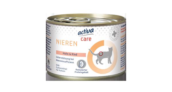 activa care Nassnahrung Katze Nieren
