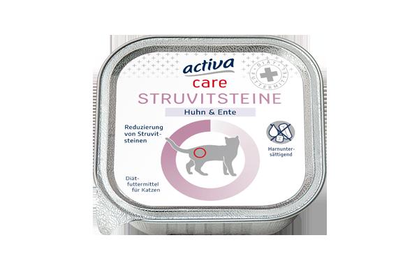 activa care Katzen Nassnahrung Struvitsteine