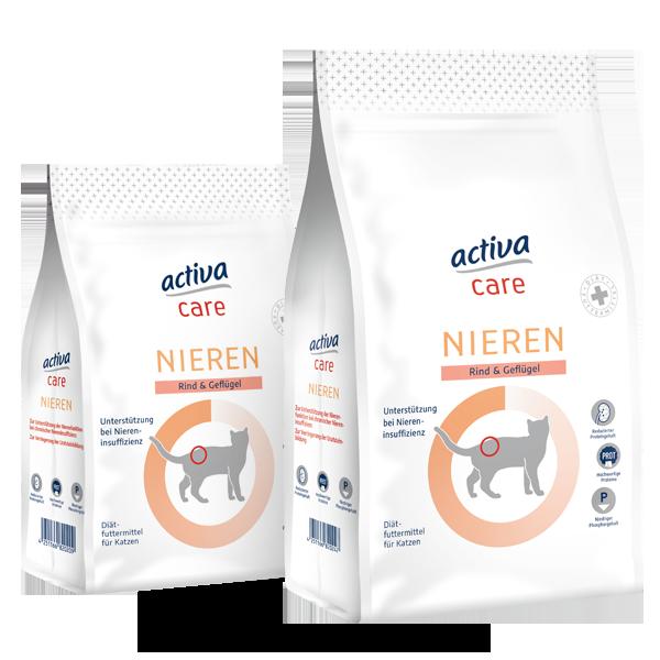 activa care Katzen Trockennahrung Nieren