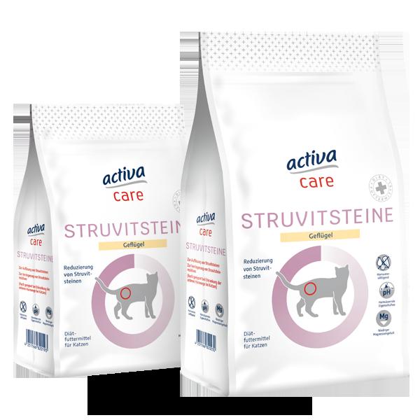 activa care Trockennahrung Katze Struvitsteine