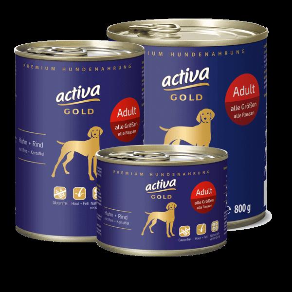 activa GOLD Huhn und Rind Adult