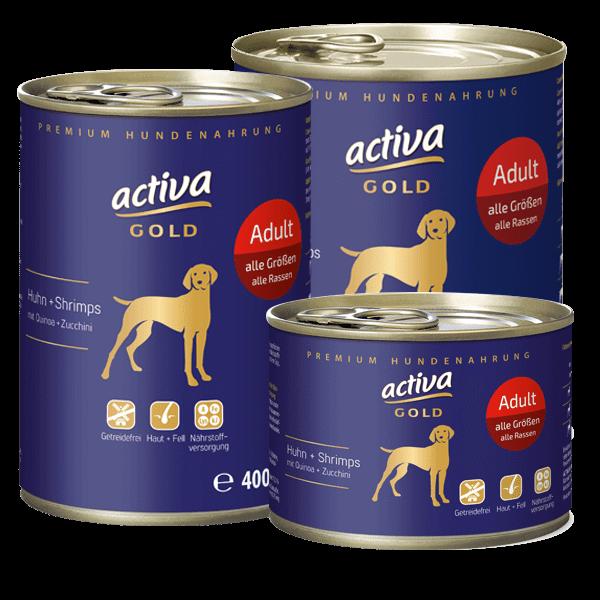 activa GOLD Huhn und Shrimps Adult