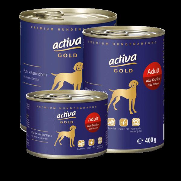 activa GOLD Pute und Kaninchen Adult