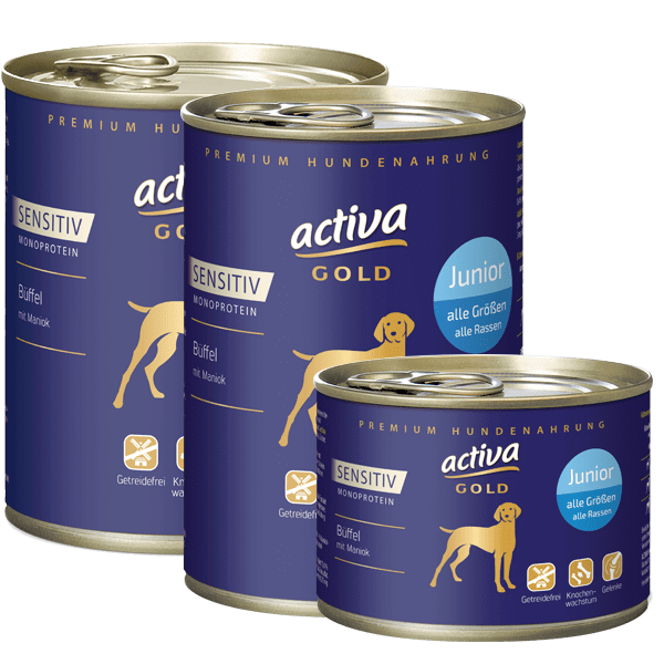 activa GOLD Sensitiv Büffel Junior