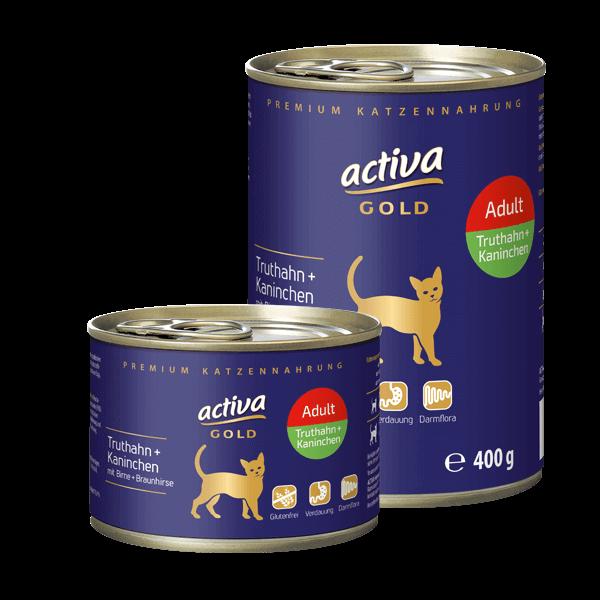 Activa Gold Adult Dose Truthahn Kaninchen