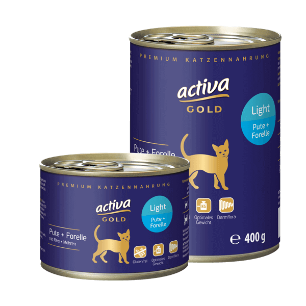 Activa Gold Katze Light Dose