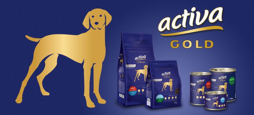 Activa Gold Sensitiv Hund bei Das Futterhaus