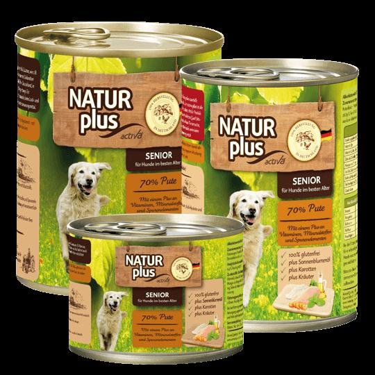 Natur plus Hund Senior Pute