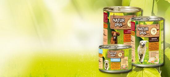 Natur plus Hunde Nassfutter