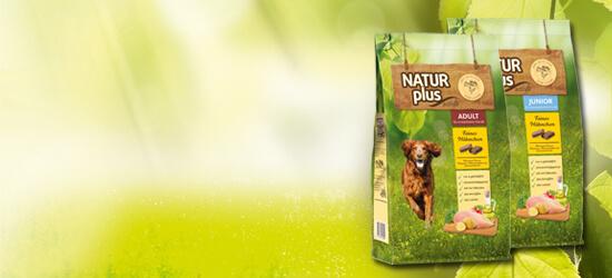 Natur plus Hunde Trockenfutter