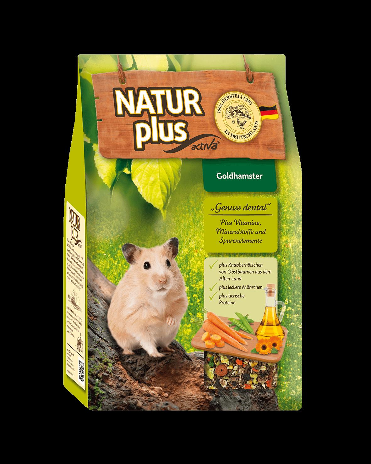 Naturplus- Hamsterfutter