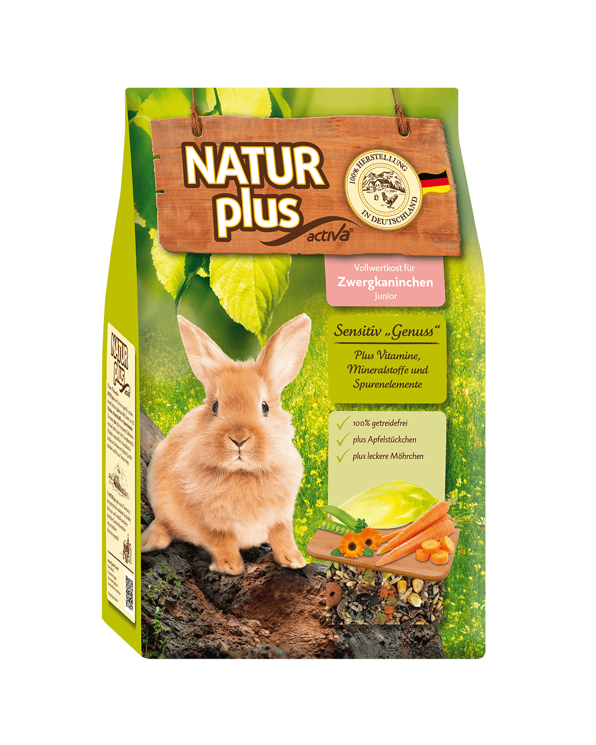 Natur plus ZK Junior Sensitiv Genuss