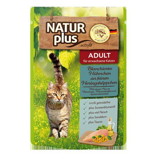 Naturplus- Katzenfutter