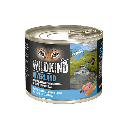 WILDKIND Cat RIVERLAND Senior Truthahn Forelle
