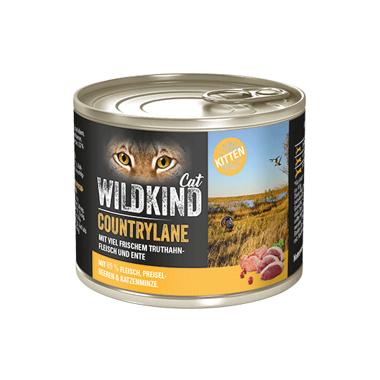WILDKIND Cat COUNTRYLANE Kitten Truthahn Ente