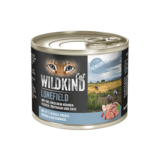 WILDKIND Cat LONEFIELD Senior Huhn Truthahn Ente