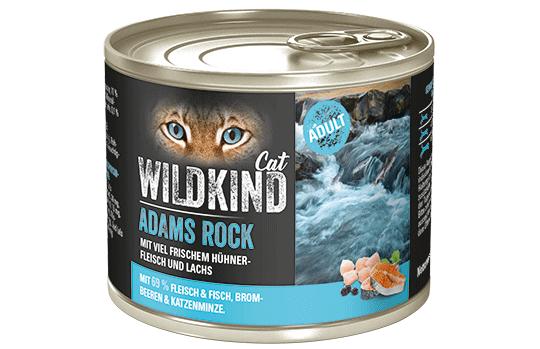WILDKIND Cat ADAMS ROCK Adult Huhn und Lachs