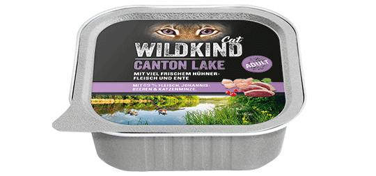 WILDKIND Cat CANTON LAKE Adult Huhn und Ente
