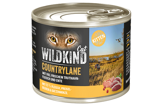 WILDKIND Cat COUNTRYLANE Kitten Truthahn und Ente