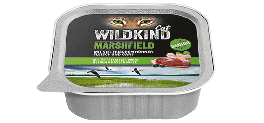 WILDKIND Cat MARSHFIELD Senior Huhn und Gans