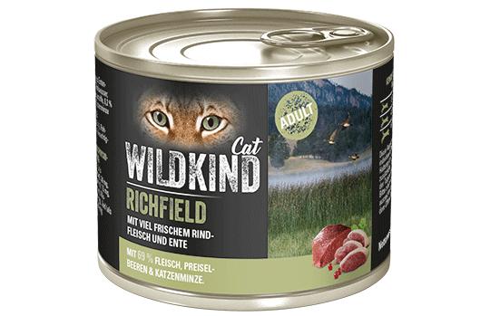 WILDKIND Cat RICHFIELD Adult Rind und Ente