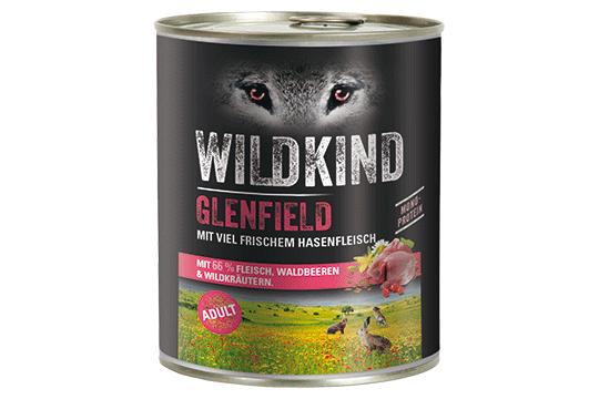 Wildkind Glenfield 800g Dose