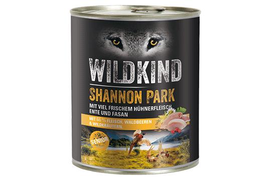 Wildkind Shannon Park 800g Dose
