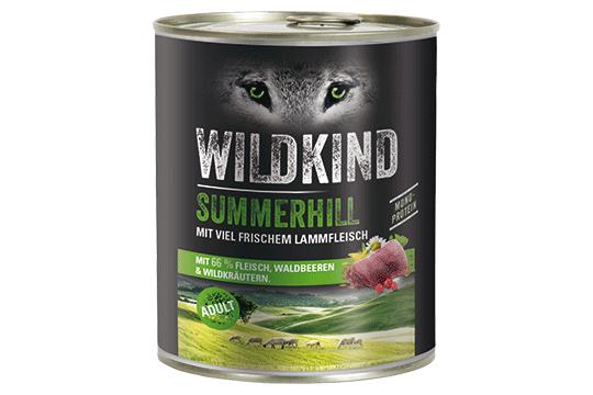 Wildkind Summerhill 800g Dose